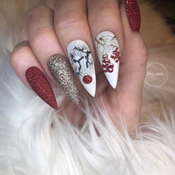 Winter nails designs