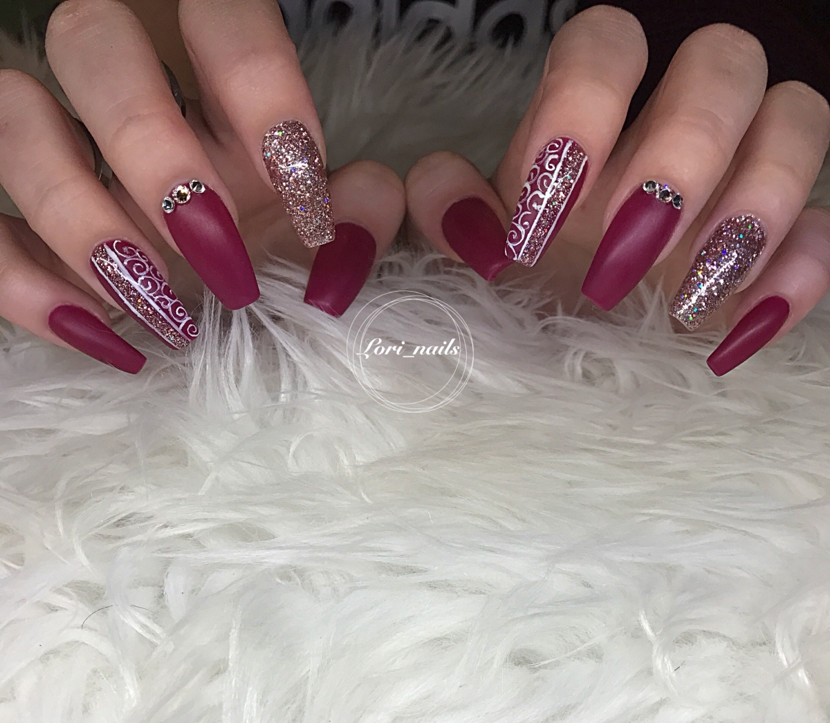 Swarovski crystal nails Archives - Dreaming of nails
